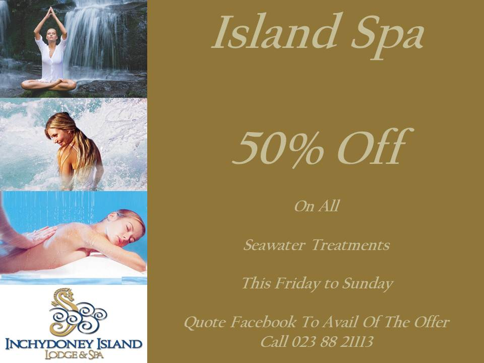 50% Off On Seawater Treatments in The Island Spa